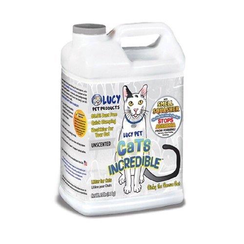 美國LUCY《魔力貓砂-無香|薰衣草》14lb袋裝/20Lbs桶裝 - 99.9%無粉塵,凝結除臭力佳『WANG』