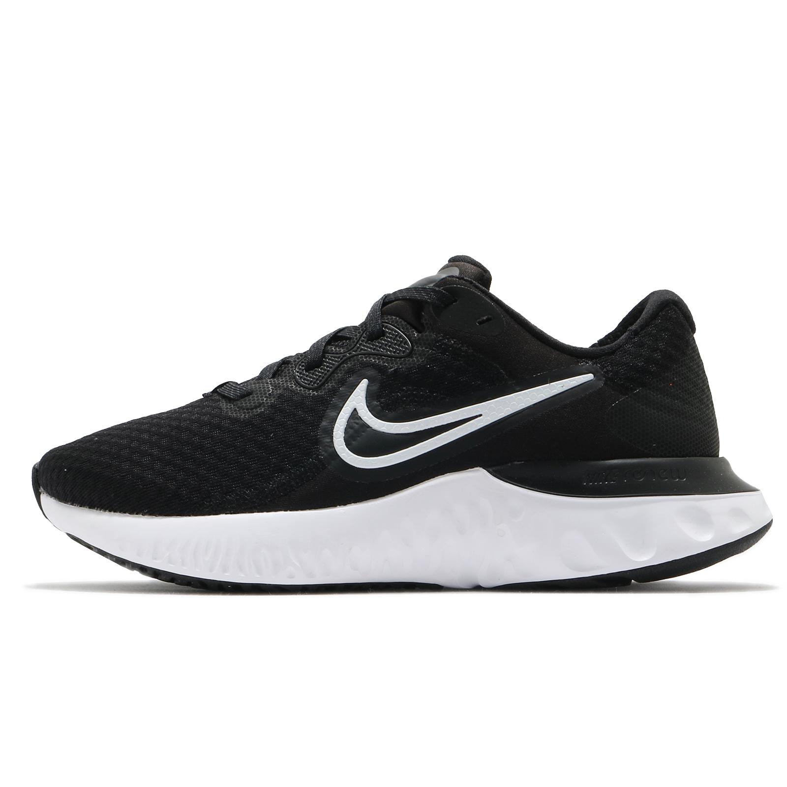 Nike 慢跑鞋 Renew Run 2 黑 白 基本款 運動鞋 女鞋 發泡中底【ACS】 CU3505-005