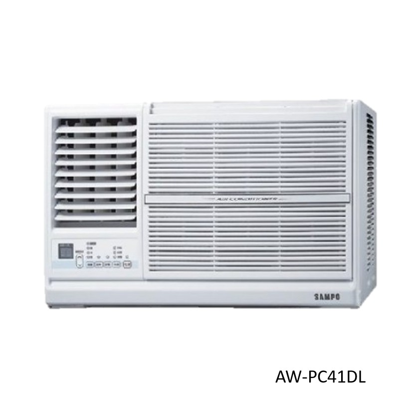 SAMPO 聲寶 7-8坪 窗型 左吹式變頻冷氣 AW-PC41DL