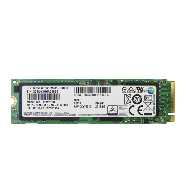 三星PM981a PM9A1 256G 512G 1T PCIE4.0電腦M.2 SSD固態硬盤NVMe