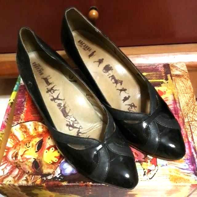 麥坎納macanna黑色跟鞋