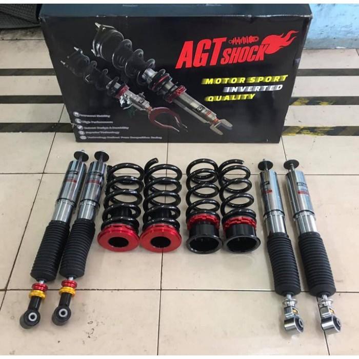 【優質輪胎】AGT倒插避震器 軟硬高低可調(BENZ 賓士 W210車系 E240 E280 E320)三重區