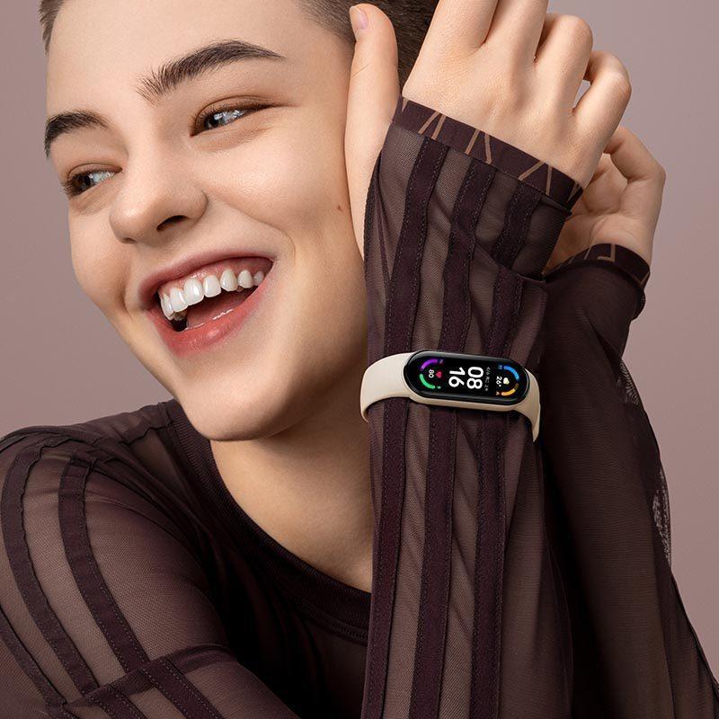 小米手環6 標準版 小米手環5 血氧檢測 小米手環 台灣保固一年 繁體中文 小米手環4小米手環6代NFC版全屏防水智能運