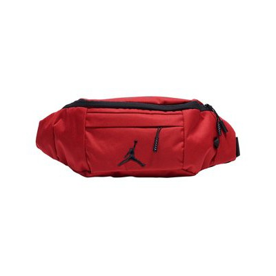 0f4e18593ee4 9 17 NIKE AIR JORDAN CROSSBODY SLING BAG 紅色飛人腰包9A0092 R78 ...