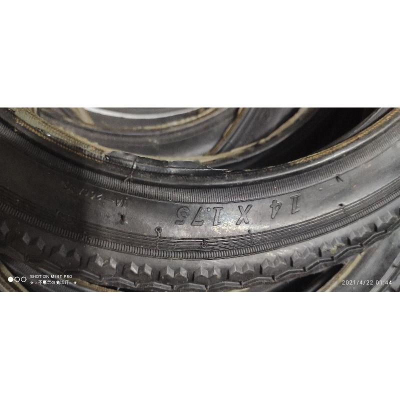 14吋 腳踏車 輪胎 14x1.75輪胎 外胎