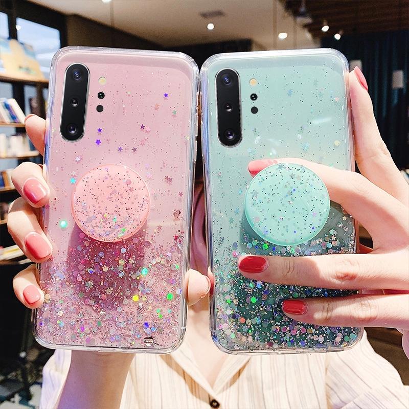 Bling Bling Glitter Star Case 三星 Galaxy A50 A70 A80 A10 A20
