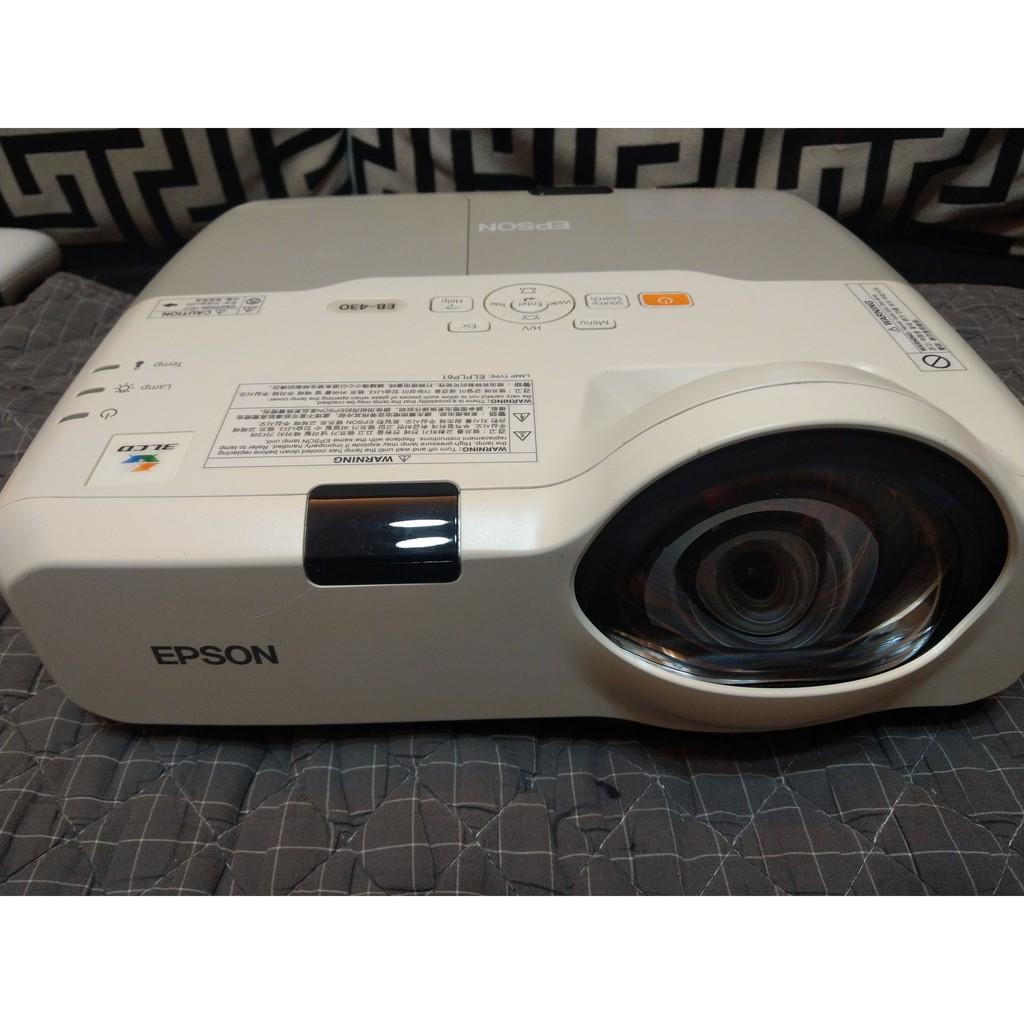 EPSON 短焦投影機 EB430 二手