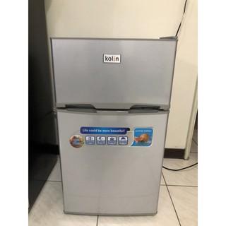 【Kolin 歌林】90公升一級能效雙門小冰箱 拉絲銀KR-SE20915