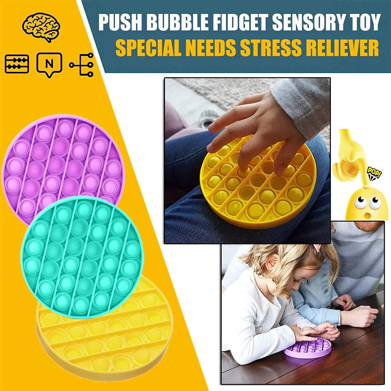 彈出煩躁推泡泡玩具 Go Bong Rodent 控制先鋒成人兒童智力算術桌面玩具減壓玩具手指感官玩具兒童禮物