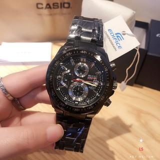 CASIO卡西歐手錶三眼計時賽車男錶防水真皮錶男士鋼帶石英腕錶 真皮 不鏽鋼錶帶 促銷 公司貨 新北市