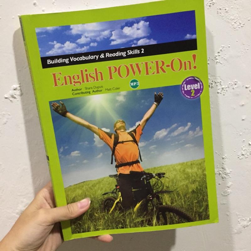 English POWER-On!(level 2) - Shara Pupuis 著
