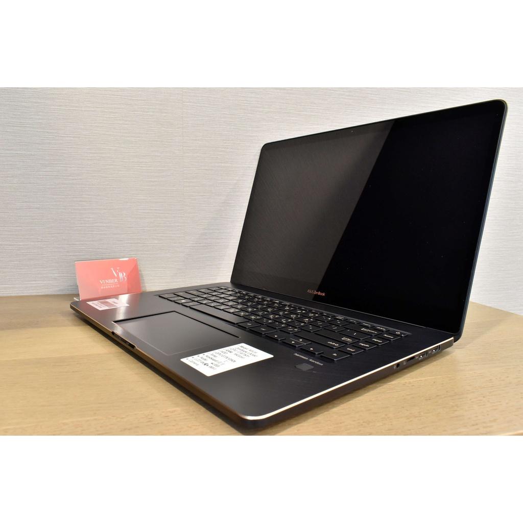 【閔博國際】ASUS ZenBook Pro 15吋 i9 觸控4K智慧雙螢幕GTX 1050ti高階筆電