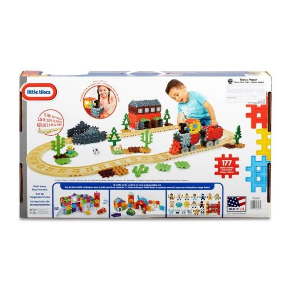 COSTCO好市多線上代購~LITTLE TIKES 鬆餅積木火車軌道組(每盒173件)