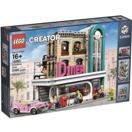 LEGO 樂高 10260 Downtown Diner 美式餐廳 全新未拆