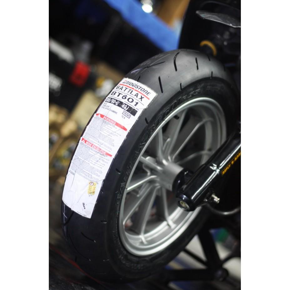 [12吋輪胎] BRIDGESTONE 普利司通 BT601 100/90-12 49J YCX 軟版 熱融胎 日製
