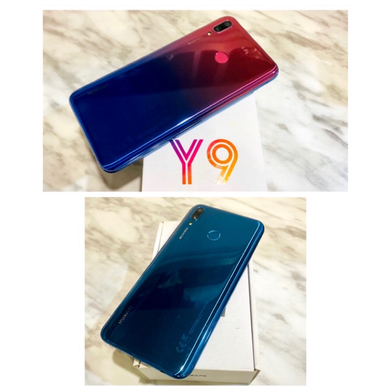 🧬2/15更新!降價了🧬二手機 台灣版HUAWEI Y9 2019年 (雙卡雙待/6.5吋/64GB/臉部解鎖)