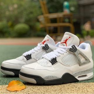 [Sneaker] Air Jordan 4 Retro 白水泥 黑白 AJ4 籃球鞋 840606-192 桃園市