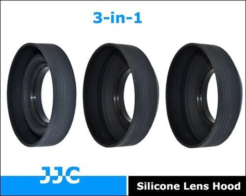 又敗家 JJC副廠尼康HR-2遮光罩相容原廠Nikon遮光罩HR-2適50mm 1:1.8D遮罩F1:1.4