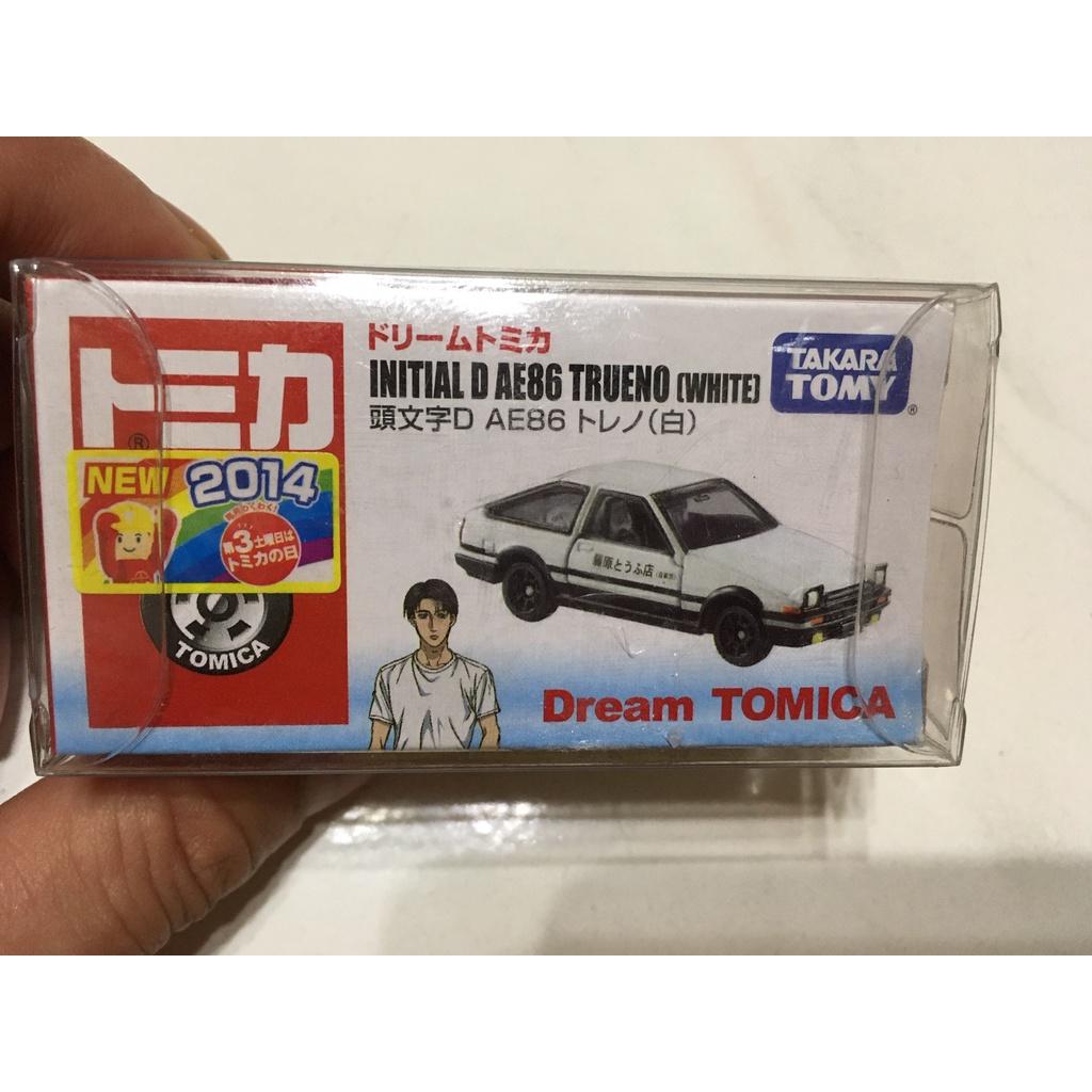 Tomica Toyota AE86 Trueno 頭文字D 藤原拓海 1/64 模型車 白蓋