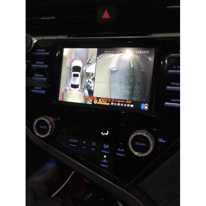 (柚子車舖) 三菱 OUTLANDER 360° 環景系統 4錄攝影 報價完工價(含行車錄影功能) 3D版