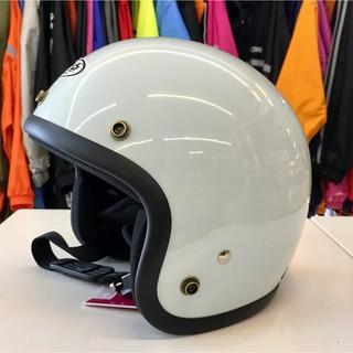 林森●GP-5安全帽,半罩安全帽,3/ 4帽,復古帽,小帽體,D303,白 新北市
