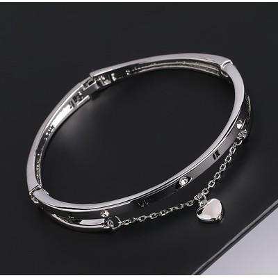 時尚百搭簡約學生手鏈女手鐲閨蜜姐妹手鏈生日禮物韓版水鑽手環