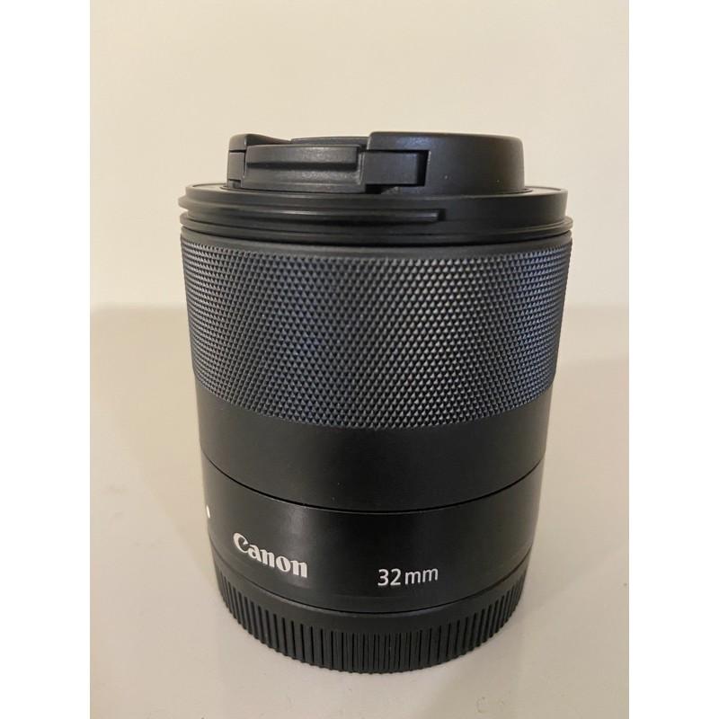 Canon EF-M 32mm F1.4 STM 公司貨 二手 免運 大光圈 M50 32mmF1.4