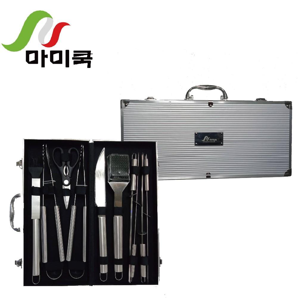 [現貨]【mami. cook】露營刀具大全配11件組(野炊、露營、烤肉)