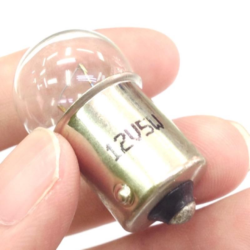 【浩洋電子】12V 24V 1156 單芯燈泡 BA15S 汽車方向燈 鎢絲燈泡 5W