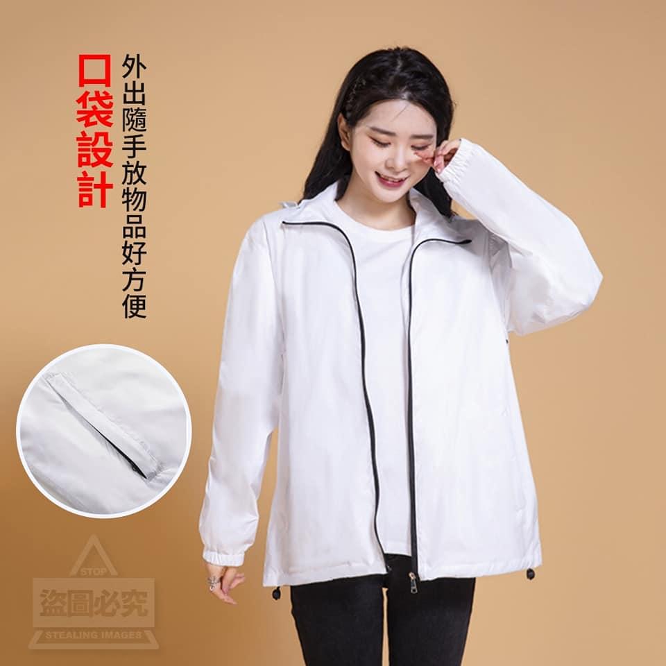 minnienn  台灣製造時尚機能防飛沫防護外套女裝版