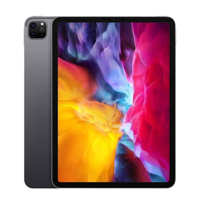 Apple iPad 11 Pro 128GB 2020 深空灰 原廠聰穎雙面夾 巧控鍵盤白色 二手