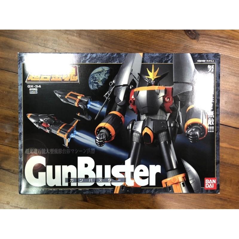 初版 日版 超合金魂 Gx-34 鋼巴斯達 GunBuster 勇往直前 日初版