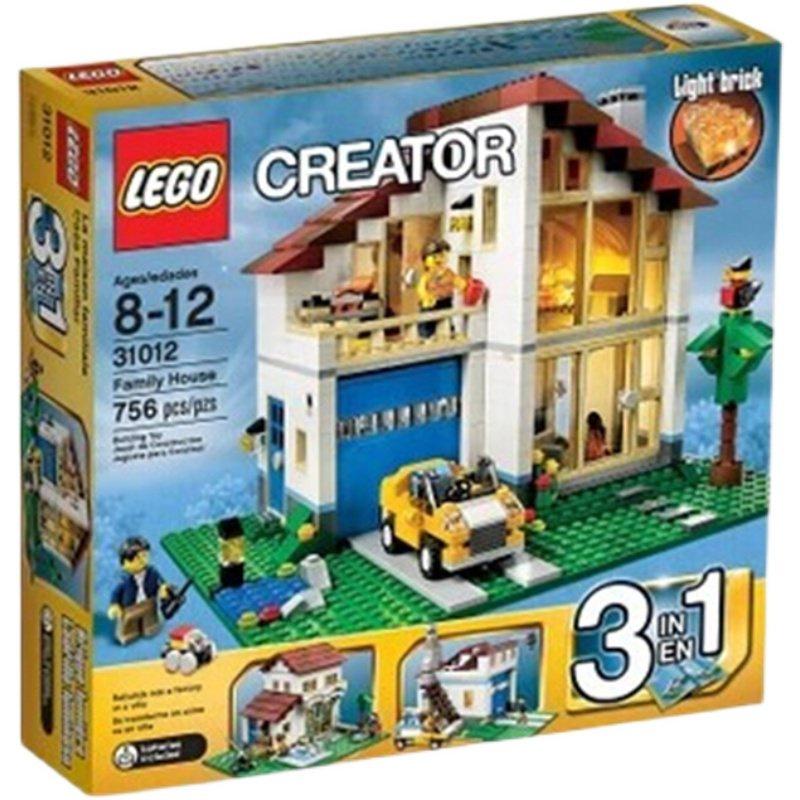 正品樂高積木玩具 LEGO 創意3合1創意百變系列 溫馨家庭 31012