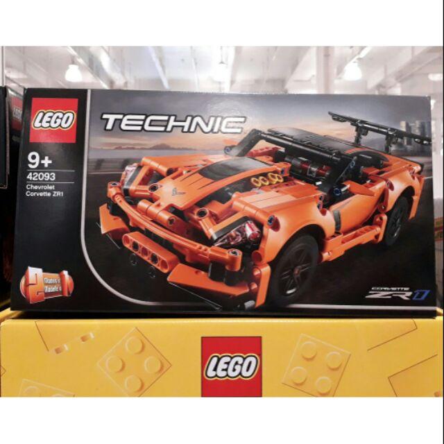 【好市多正品】LEGO 樂高 科技系列 42093 Chevrolet Corvette ZR1 / COSTCO