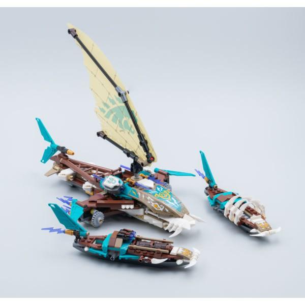 【台中翔智積木】LEGO 樂高 NINJAGO 忍者系列 71748 單售 Keepers' 雙體船