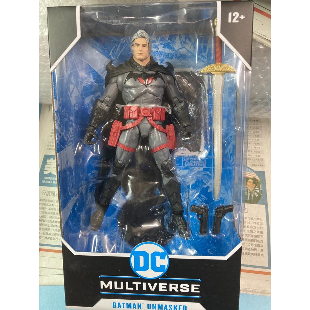 全新現貨 代理版 麥法蘭 DC Multiverse 7吋 閃點 Flashpoint 蝙蝠俠 Batman 無面罩版