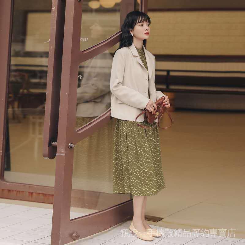 新款小個子休閒時尚春秋季百搭外套女女裝學院風韓版小西裝