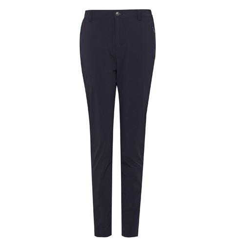 瑞多仕 DA3395 女彈性快乾休閒長褲(基本款) 暗藍黑色