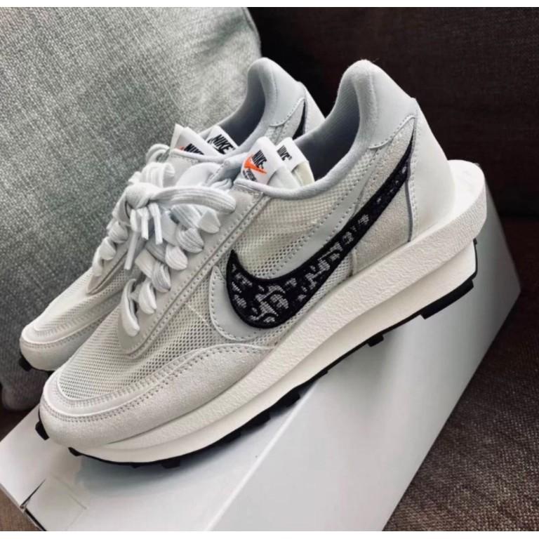 全新Nike x Sacai x Dior 聯名 20 白灰 休閒鞋 預購