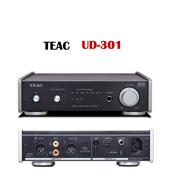 TEAC UD-301 USB D/A轉換器 台灣公司貨
