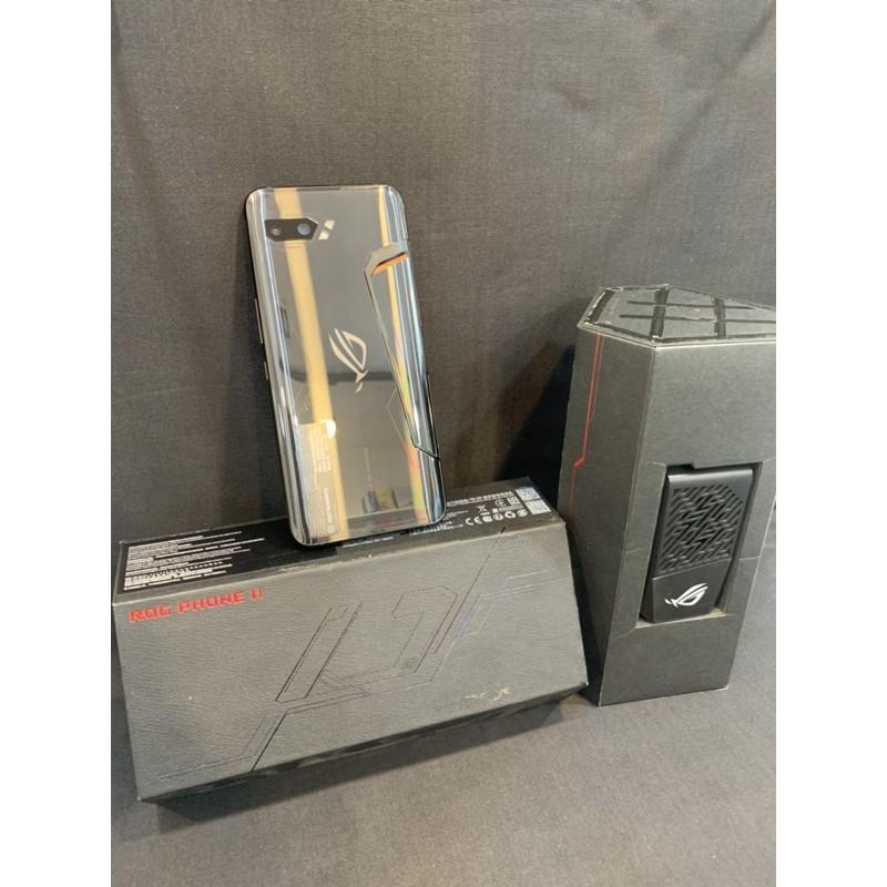 保固內ASUS ROG PHONE 2 512gb ROG2代 原廠配件全在