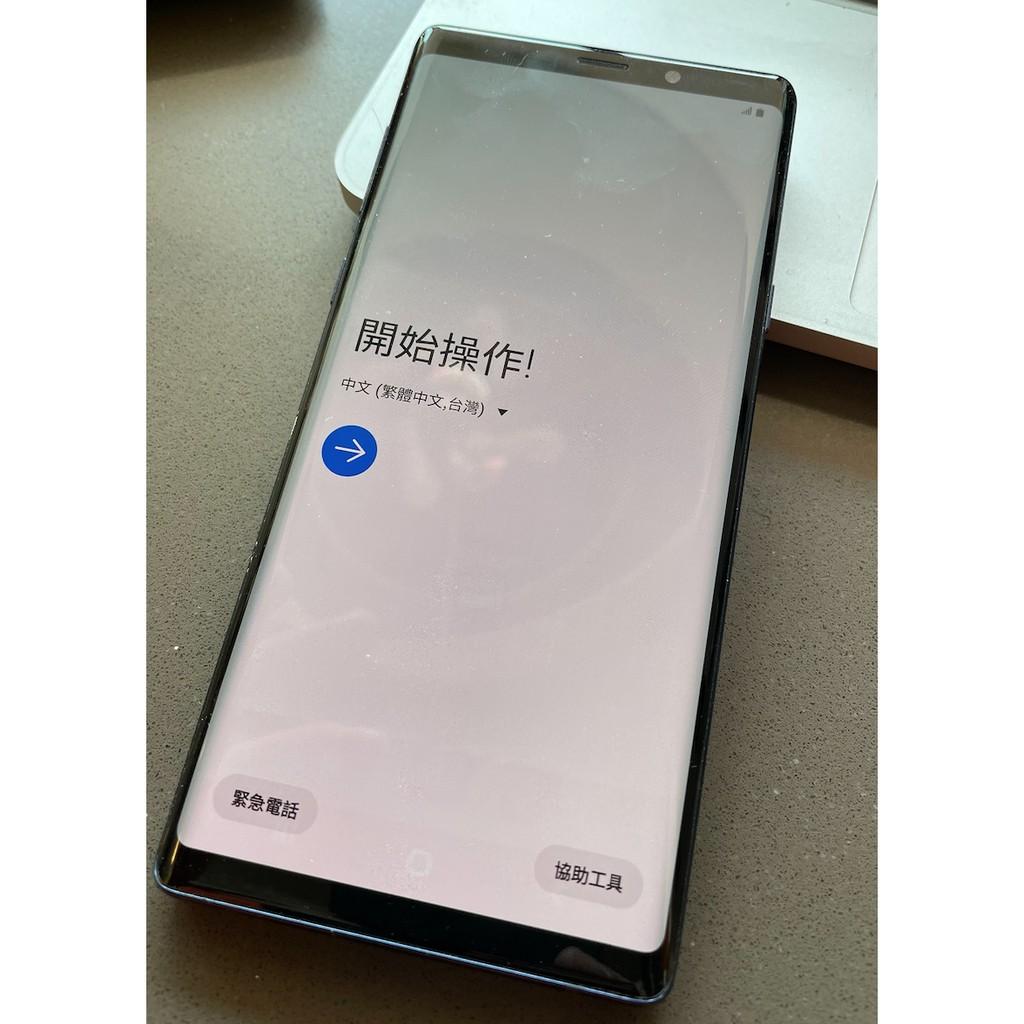 Samsung Note 9 二手,八成新。