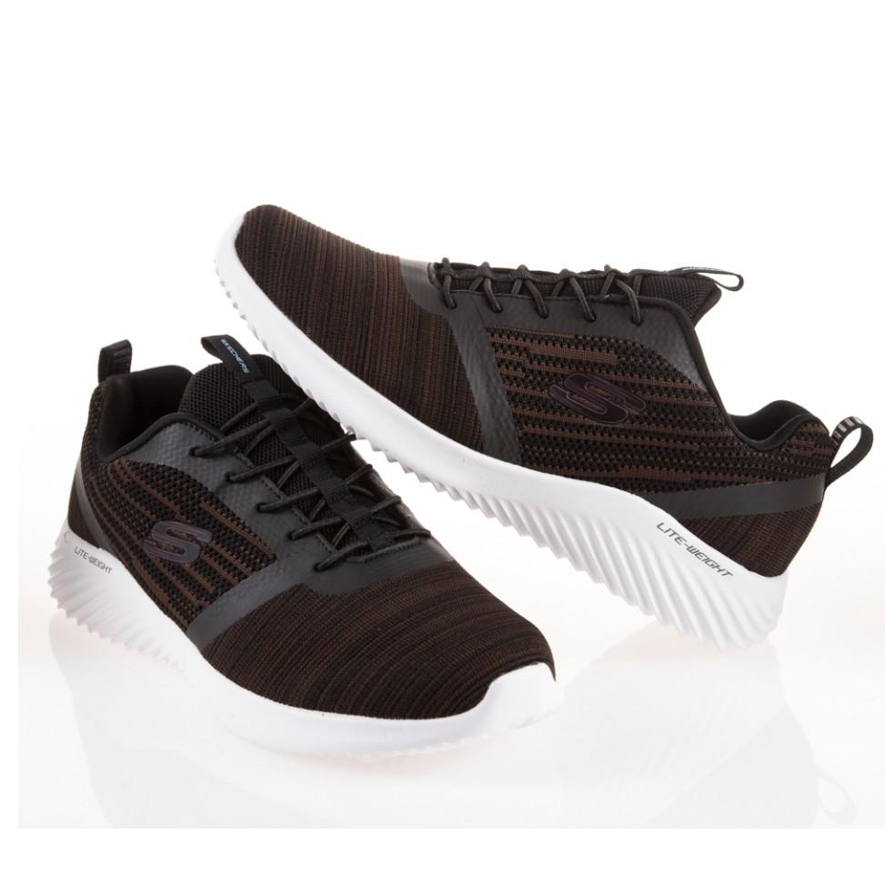 Skechers BOUNDER 慢跑鞋 咖啡 男版 透氣 輕量 52504WCHOC