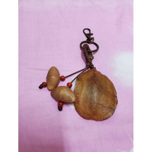 巴格浪~種子手作~藍花楹+莢竹桃種子吊飾