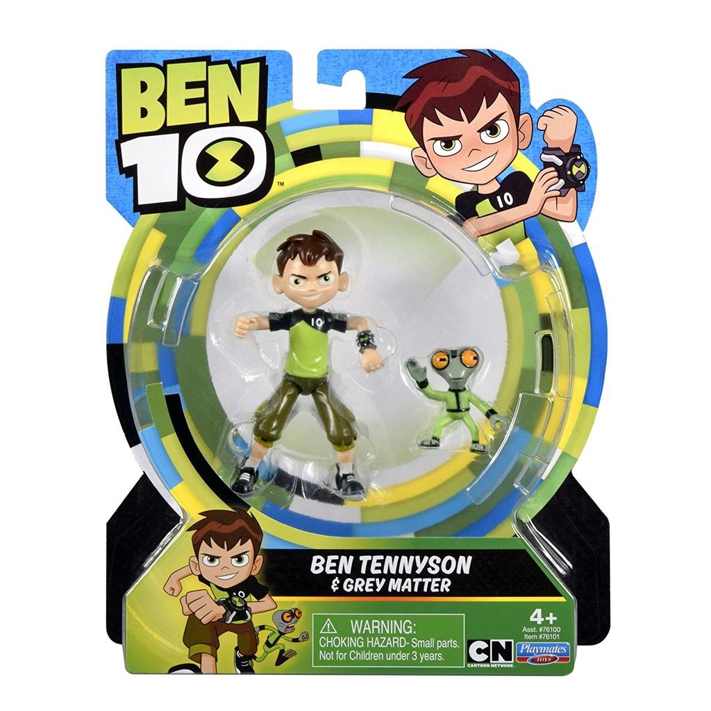 熱賣#少年駭客Ben 10火焰四手霸王田小班熱門周邊人仔角色可動人偶