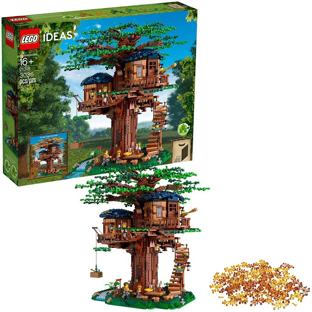 現貨可刷卡【Mr.Brick】LEGO 21318 Tree House 樹屋
