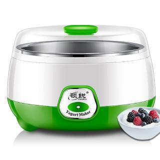 220V 800ml電動自動酸奶機高品質的Caso酸奶DIY杯工具塑料不銹鋼容器