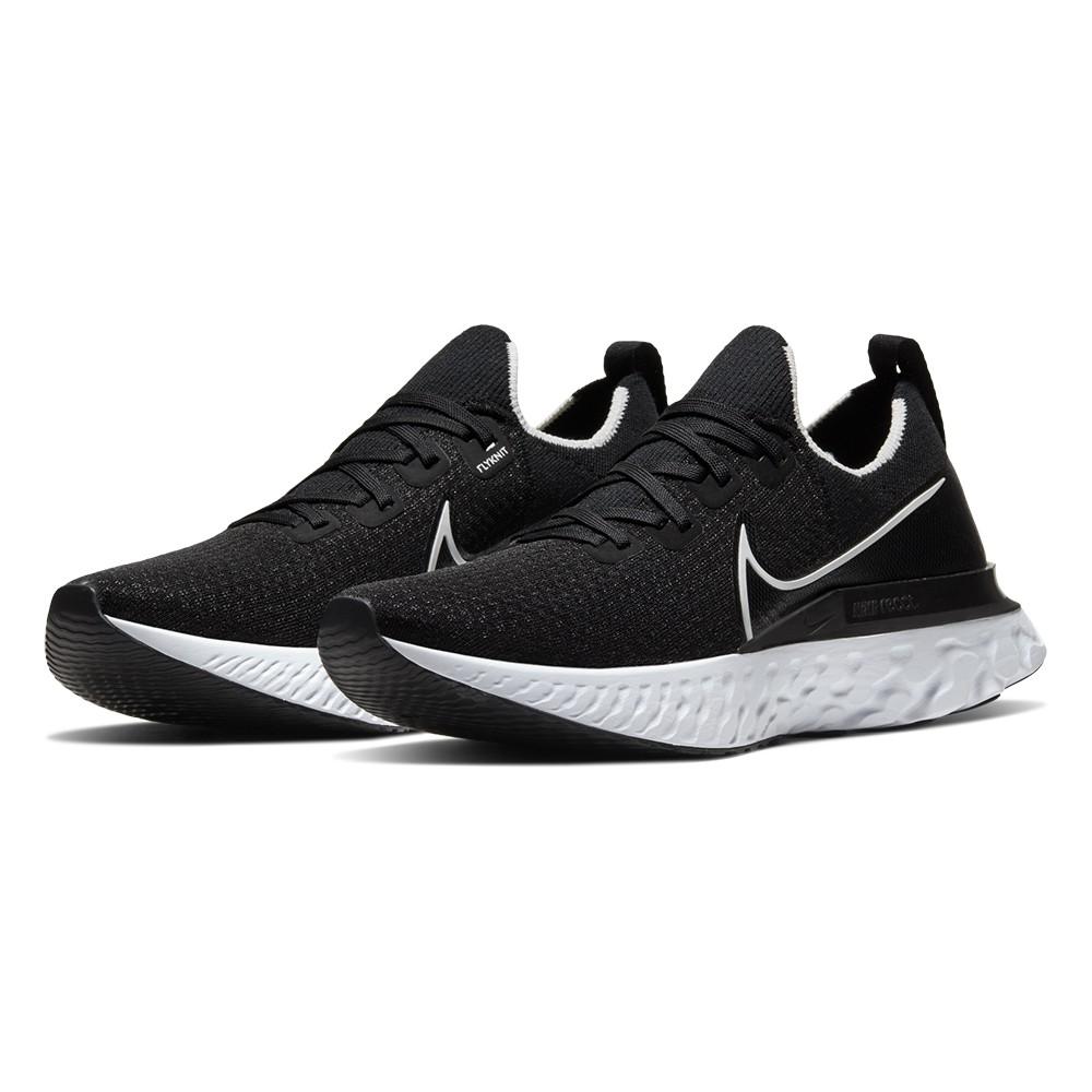 NIKE W REACT INFINITY RUN FK 黑 女 經典 慢跑鞋 CD4372002