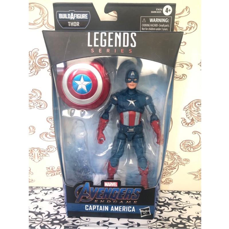 (卡司 正版現貨 ) 代理版 漫威  Marvel Legends 傳奇人物組 美國隊長  終局之戰 6吋 (無baf)