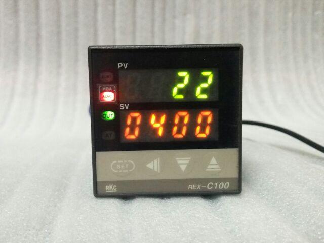 🌞日本 RKC REX-C100 0-400度 K. 100-240VAC C100FK02-V*AP 數位式溫控器